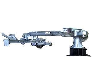 同侧式全液压开铁口机